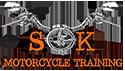 SK Motorcycle Training Logo